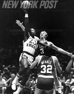Truck Robinson Scores on Kevin McHale and Larry Bird in 1962 Game.