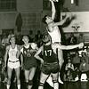 Buffalo vs Rensselaer Polytechnic Institute (RPI) on February 1, 1957.  University at Buffalo won the game 65-53.
