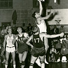 Buffalo vs Rensselaer Polytechnic Institute (RPI) on February 1, 1957.  University at Buffalo won the game 65-53.