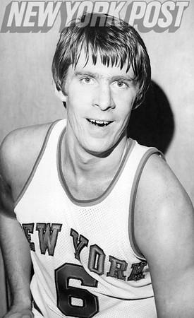 Head Shot of Tom Riker New York Knicks. 1975