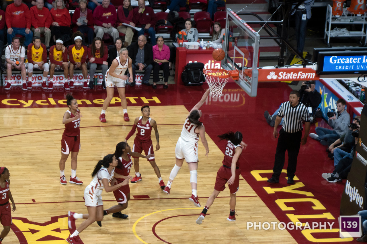 Iowa State vs. Arkansas