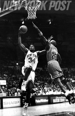 MICHAEL JORDAN & CHICAGO BULLS V. Knicks. 1991