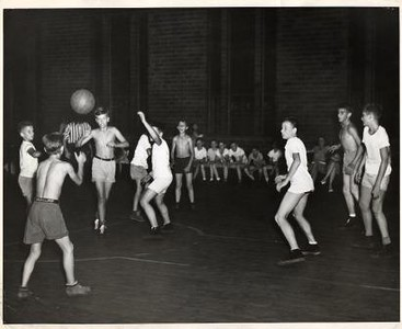 Boys Playing Basketball (01068)