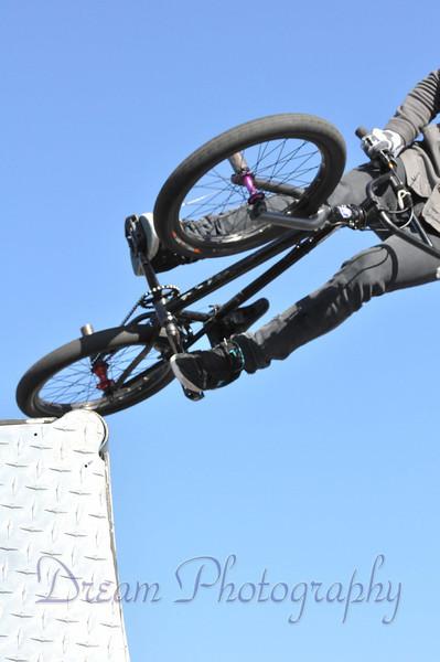 King BMX Stunt show