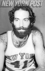 New York Knicks Neal Walk vintage close up. 1975