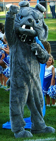 Christopher Aune | The Herald-Tribune Don't mess with the guy in the fur suit.