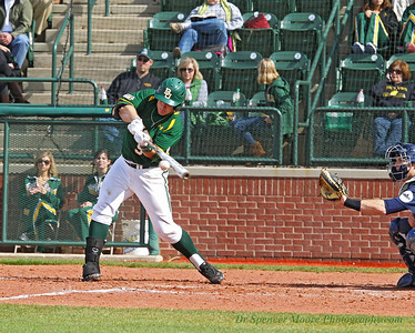 "Ball meets bat, ""Hello"". This ended up being a nice hit for Baylor."