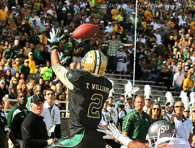The hands of Terrance Williams, #2 for Baylor. He is a finalist for the Biletnikoff Award and the presentation will be on Dec. 6, at Disney World. We will be watching this one.
