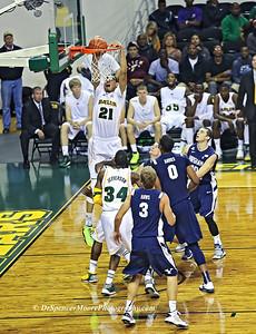 One of Isaiah Austin's slam dunk shot against  BYU.