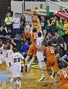 Isaiah Austin's block shot from behind the player. Great stuff.