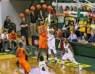 Baylor's Corey Jefferson's block shot against OSU in Waco.