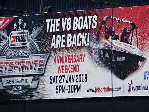 Jetsprint boten Baypark NZ