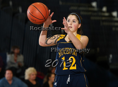 December 17, 2013;  Rochester, NY; USA;  Gates Chili Spartans JV girl's basketball vs. Spencerport Rangers at Gates Chili Gymnasium  Photo: Christopher Cecere