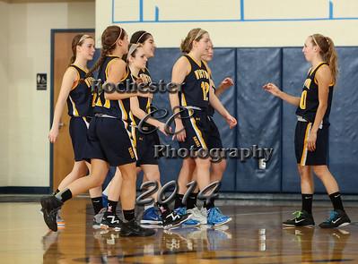 January 4, 2014;  Pittsford, NY; USA; Victor Blue Devils Girl's Basketball vs. Honeoye Falls-Lima Cougars at Sutherland Gymnasium  Photo: Christopher Cecere