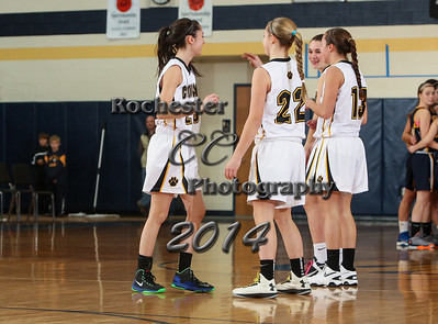 Maddy Meehan, Kayla O'Connell, Taylor Reed, Laney Sullivan