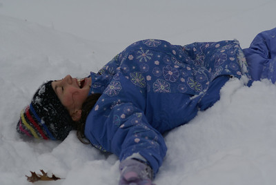 Just give in to the sleepy warmth of snow...Why fight it?