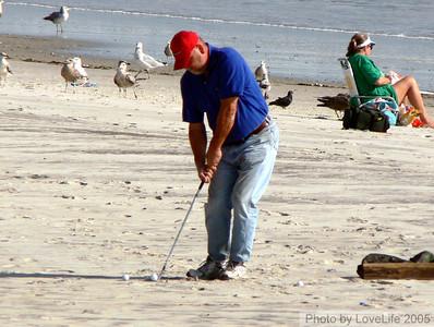 Beach Golf - No holes; No rules. FZ30 with DCR1540 684mm