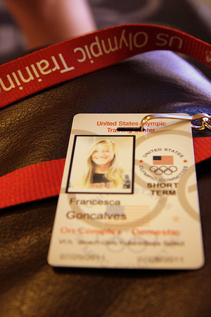 Francesca's Olympic Center Badge