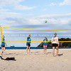 Beach sport - volleyball, Mount Maunganui, Bay of Plenty , New Zealand