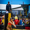 Lauren Fendrick dives for a save during her match at the AVP San Francisco Open Tournament on Friday, July 6, 2018, in San Francisco, California (Kyle Adler/Bay Area News Group)