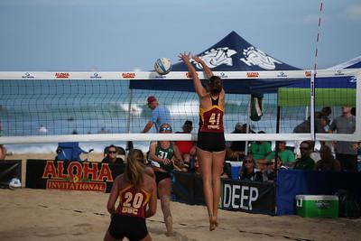 Beach Volleyball  (USC  vs. Hawaii