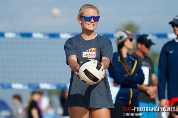 Get Noticed Beach Volleyball