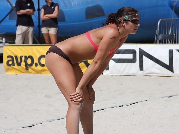 AVP Santa Barbara (2008) - Misty May and Kerri Walsh defeat Jenny Kropp & Nancy Mason in a Round 2 match (Sept. 6, 2008)