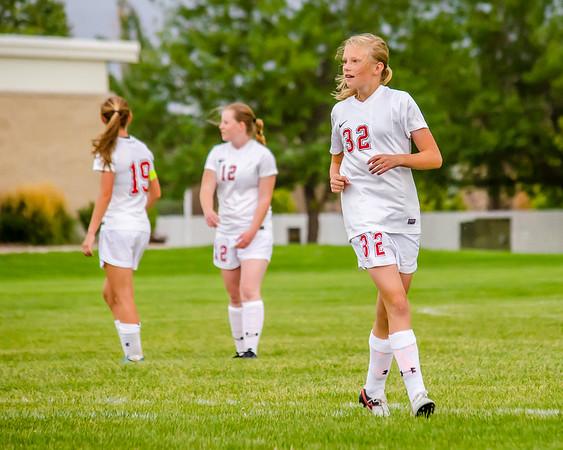 BRHS Girls Soccer VS Malad-206