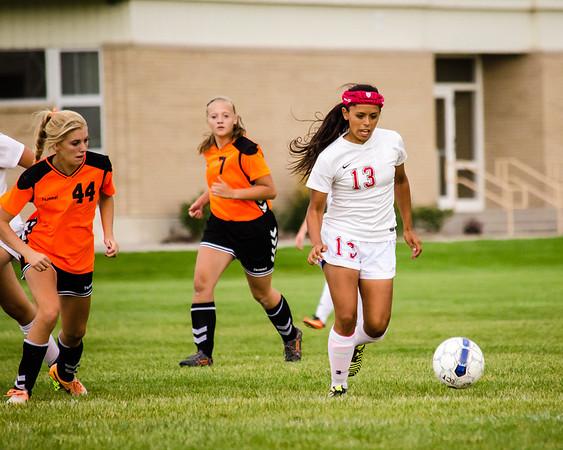 BRHS Girls Soccer VS Malad-211