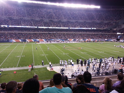 Bears Game August  8 2014