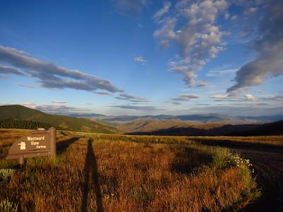 Westward view into Idaho.