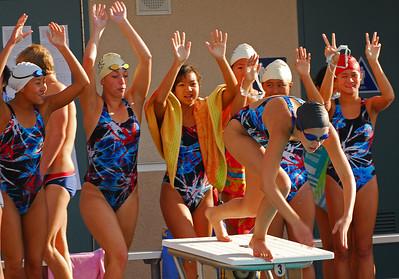 Beckman Swimming 2007 - Fountain Valley Meet