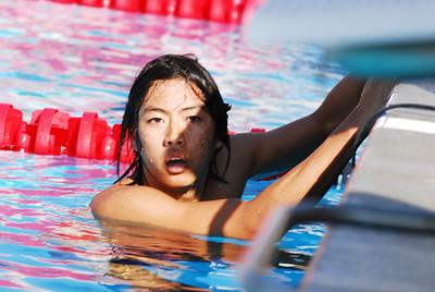 Beckman Swimming 2007 - Tesoro Meet