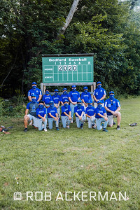 Bedford Bay State Baseball C defeats North Andover 9 to 6 on Wednesday August 12th, 2020 at Page Field