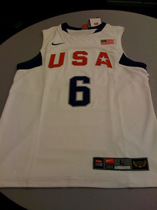 USA Team Jersey - Lebron