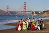 Beijing Wushu Team Portraits : Portraits taken at San Francisco's Baker Beach
