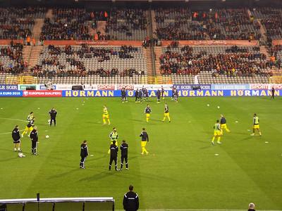 Belgium vs. Wales 2014
