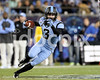 UNC receiver Ryan Switzer picks up yardage after this reception. Photo by Dean Strickland OD.