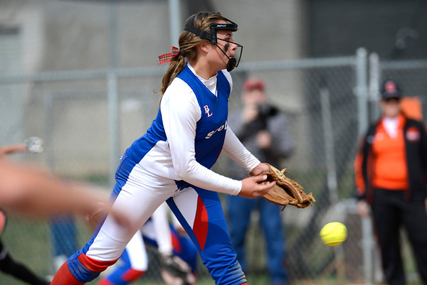 Ben Lomond girls softball team takes on Ogden High School in Ogden on April 7, 2015.