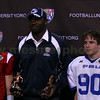MVP.  Inaugural FBU Middle School All-American Bowl.  Tyler Jopes (#90) from Bowling Green, Kentucky becomes one the two first MVPs of this national event. January 2009