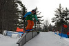 Feb 5 - The slopestyle rail competition.
