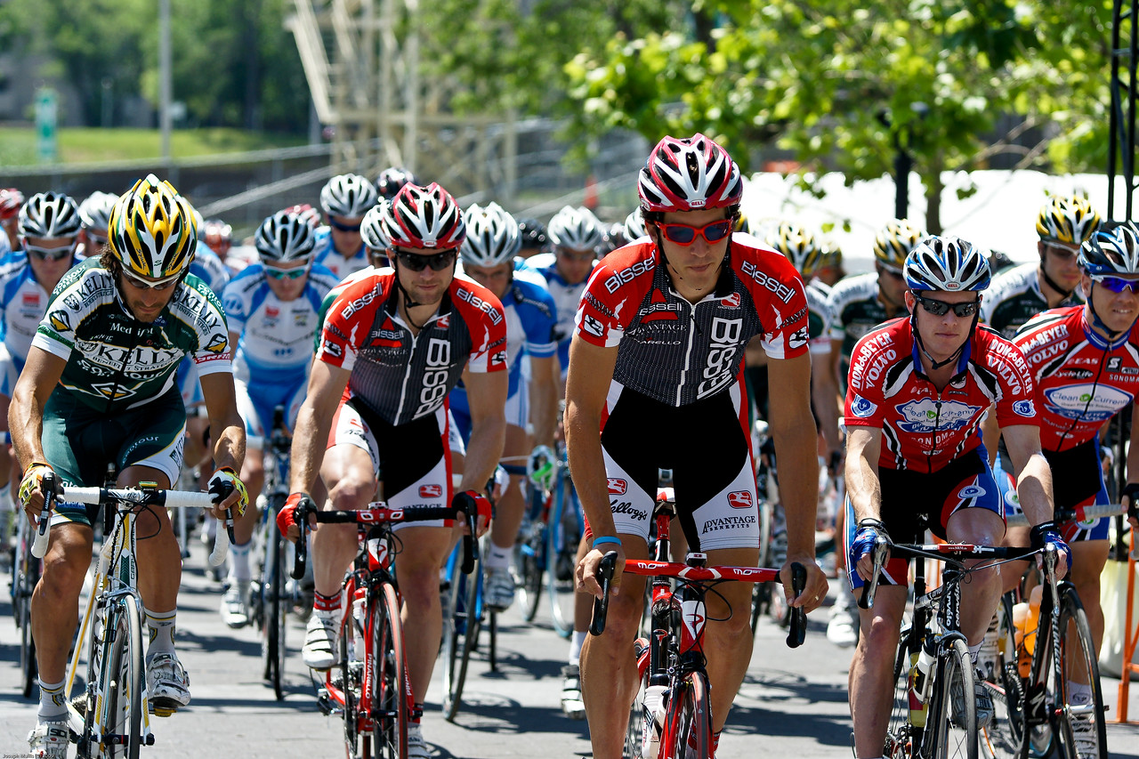 Air Force Cycling Classic<br /> The Bissell Team kit really stood out in the peleton.  Most of my favorite shots had a Bissell rider in it.