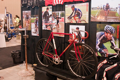 North American Handmade Bicycle Show-00160, Richard Sachs booth.  Some of the photos are mine.