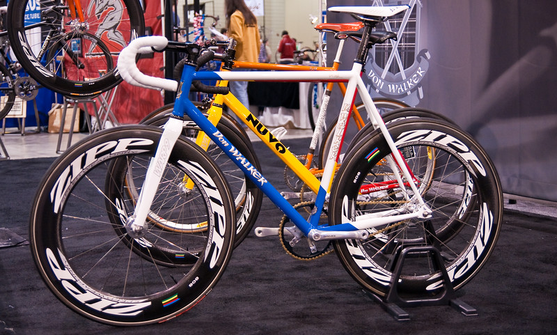 "North American Handmade Bicycle Show-00176  Don Walker had several models on show.  <br /> <a href=""http://www.donwalkercycles.com/"">http://www.donwalkercycles.com/</a>"