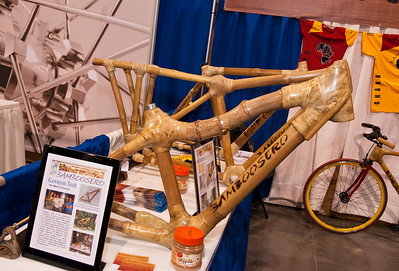 North American Handmade Bicycle Show-00188.  Bamboosero Bikes had a booth next to Calfee, they are a division of his company.  Very interesting mission statement.    http://www.bamboosero.com/