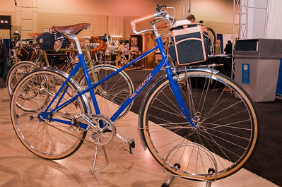 North American Handmade Bicycle Show-00179  Velo Orange.  Several had several models suited to the commuter, cyclo-tourist or Radnonneur.  Custom and classic. http://www.velo-orange.com/