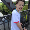 George on the Warburton Bridge