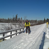 MTB ride, B'dale Bog trail, +5F, jan 9, 2010