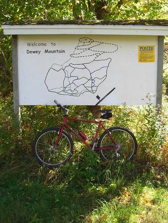 Mountain Biking: Dewey Mtn XC Ski Trails