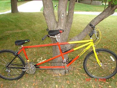 "Gary Fisher Gemini - Our ""new"" Tandem Bike"
